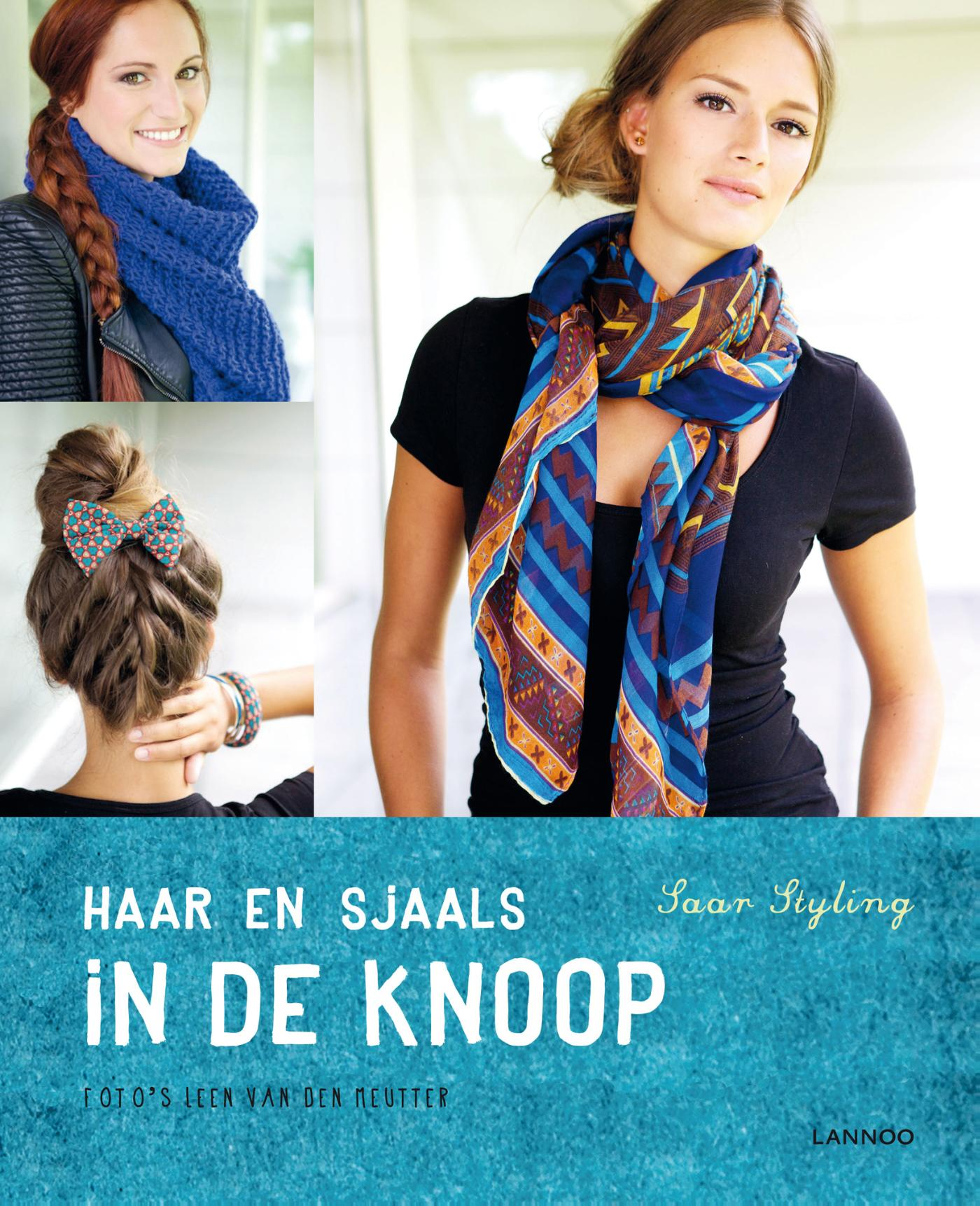 Haar en sjaals in de knoop