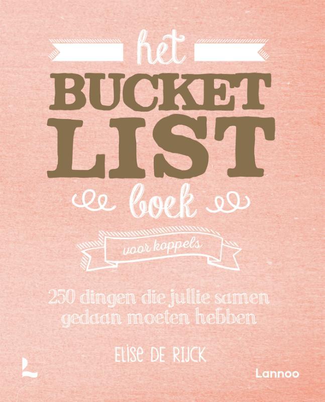 Het Bucketlist boek voor koppels