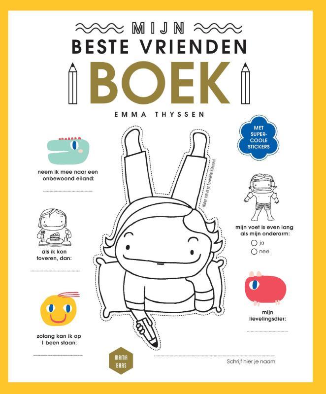Mama Baas Mijn beste vriendenboek