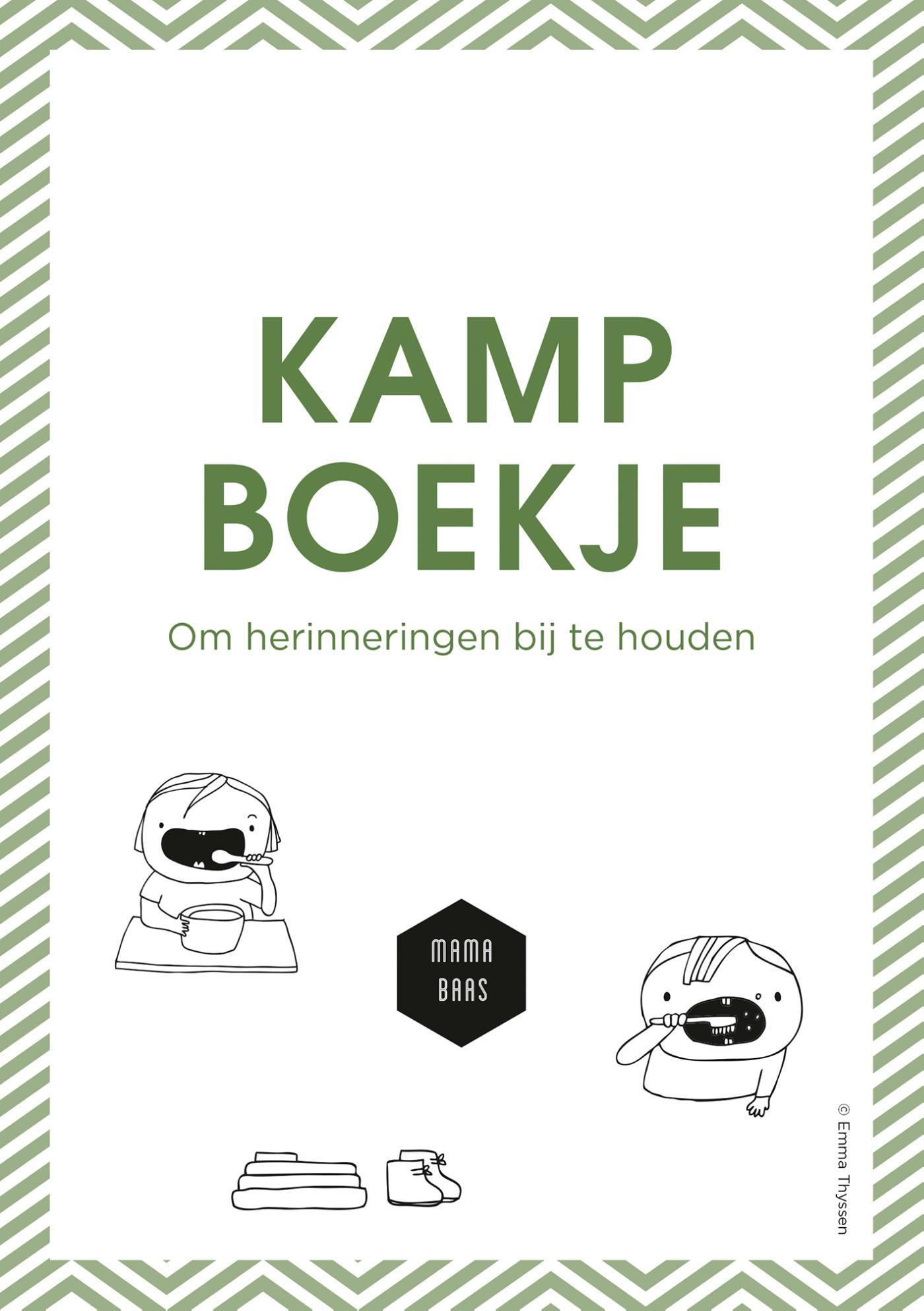 Kampboekje