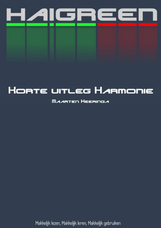 Korte uitleg Harmonie
