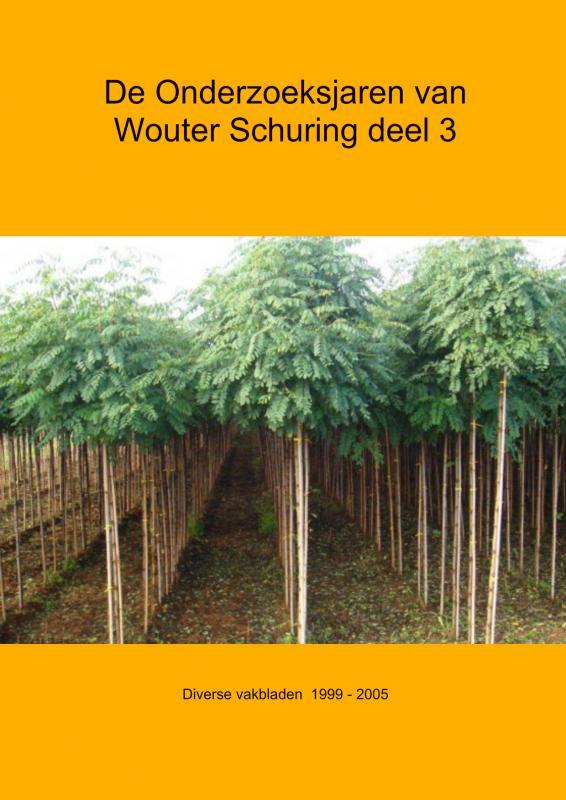 De Onderzoeksjaren van Wouter Schuring deel 3