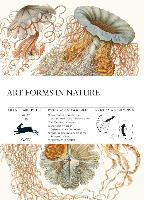 Art Forms in Nature - Gift & creative papers vol. 83