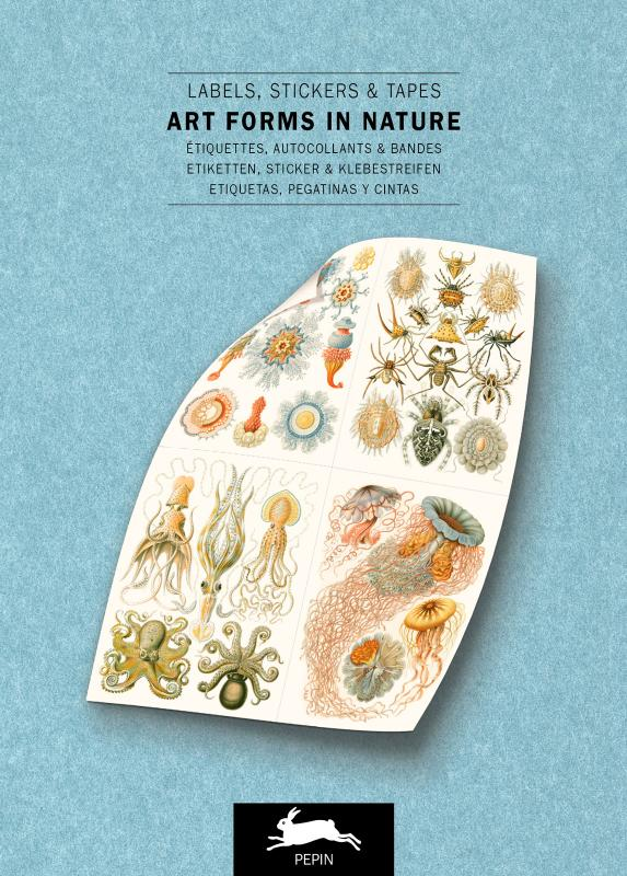 Art Forms in Nature - Label & Sticker Book