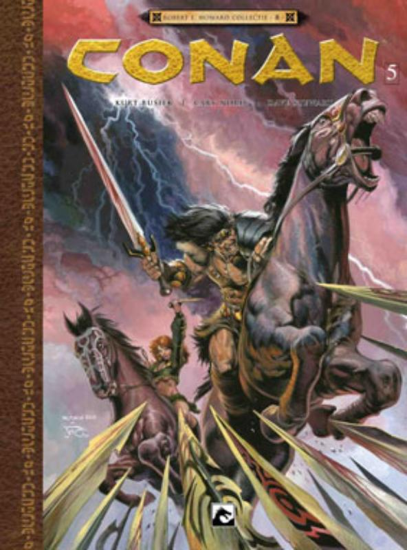 Robert E Howard Collectie Conan 5 De weduwemaker