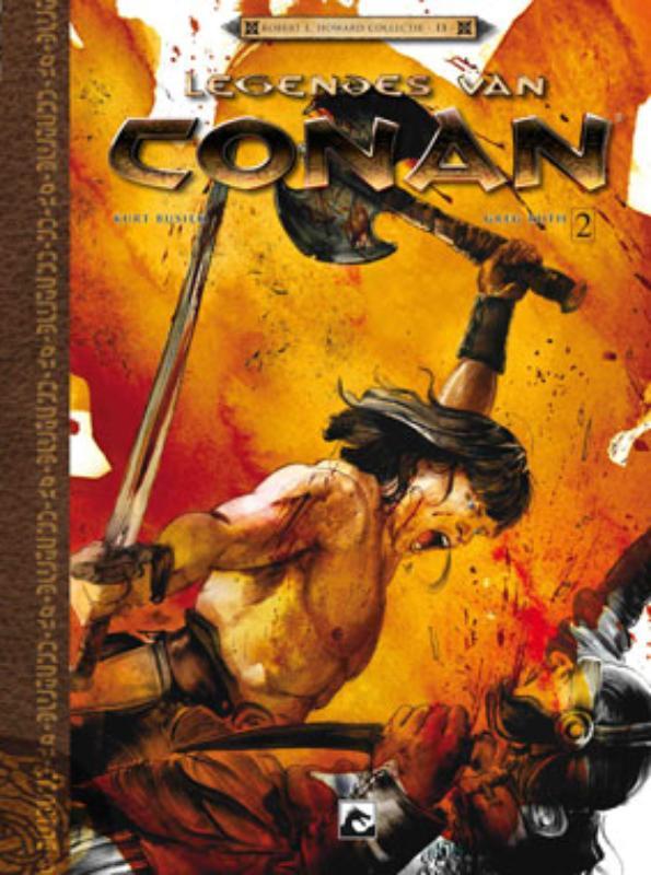 Robert E Howard Collectie Legendes van Conan 2 Geboren op het slagveld