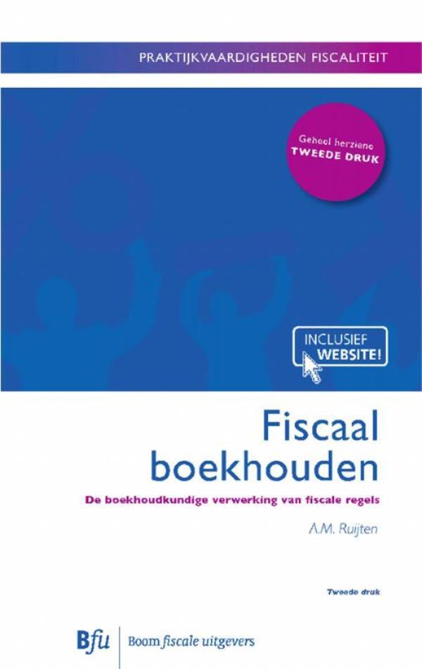 Boom fiscale studieboeken Fiscsaal boekhouden