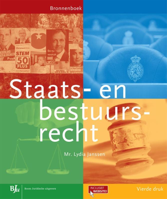 Bronnenboeken MBO Staats- en bestuursrecht