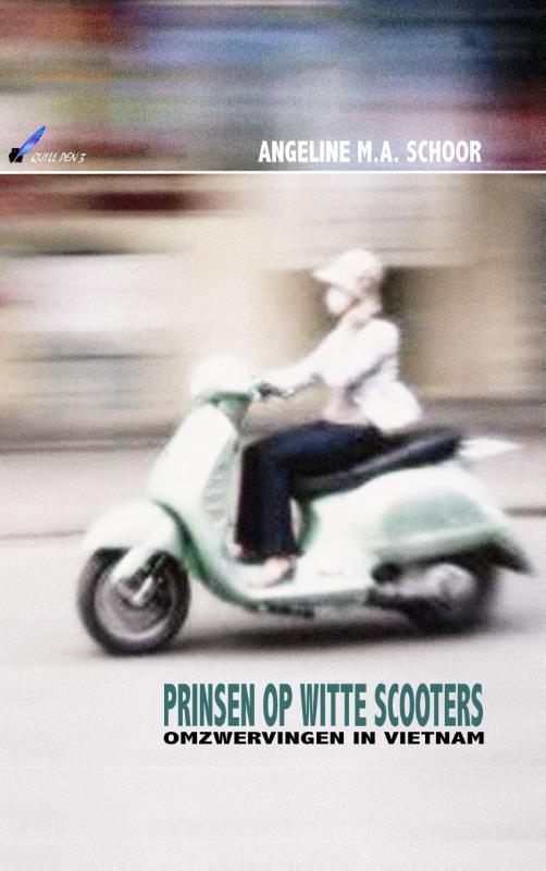 Prinsen op witte scooters