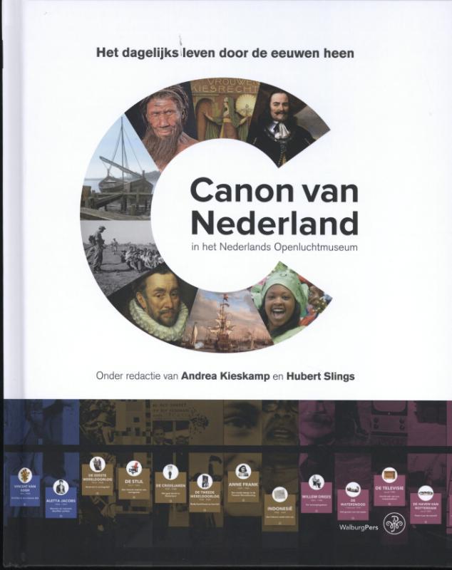 Canon van Nederland in het Nederlands Openluchtmuseum