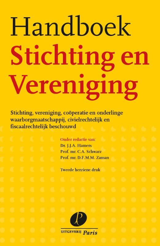 Handboek stichting en vereniging (Hamers)