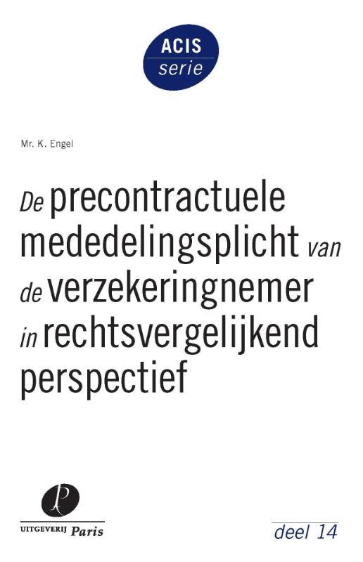 ACIS-serie - Amsterdam Centre for Insurance Studies