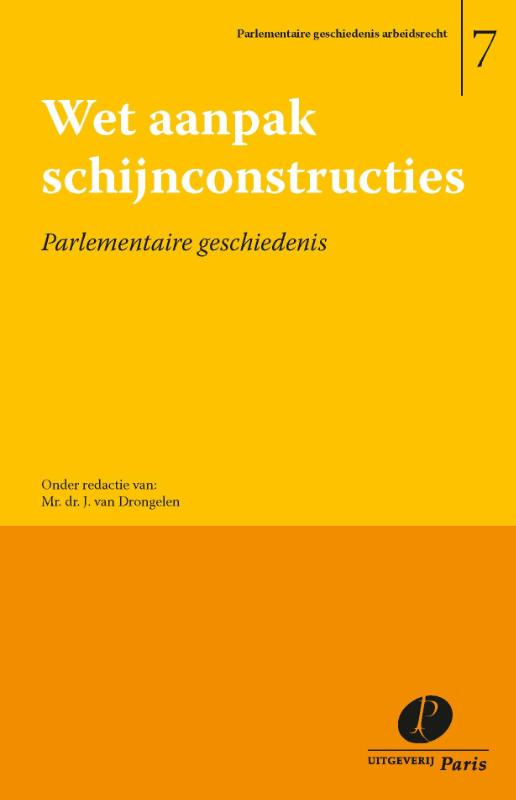 Parlementaire geschiedenis arbeidsrecht