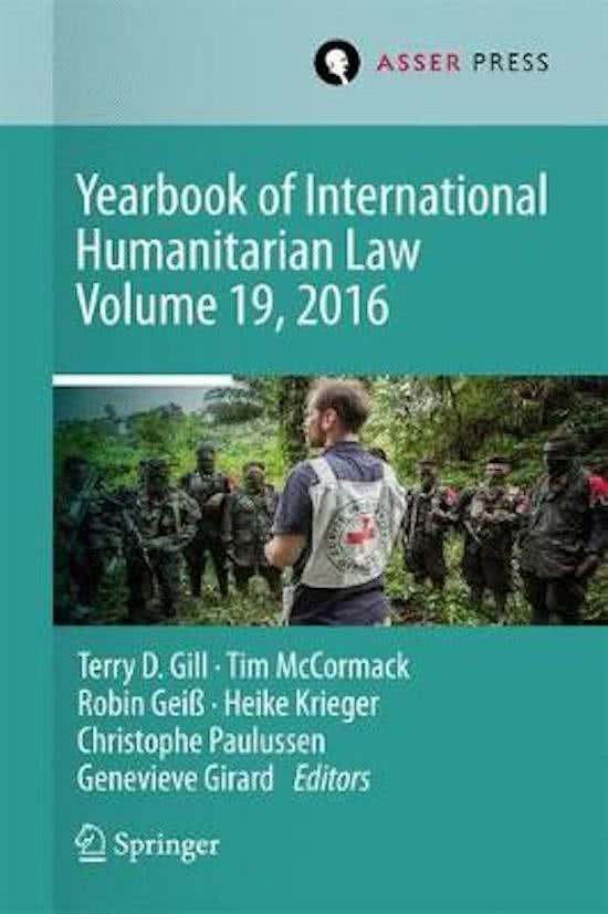 Yearbook of International Humanitarian Law 2016
