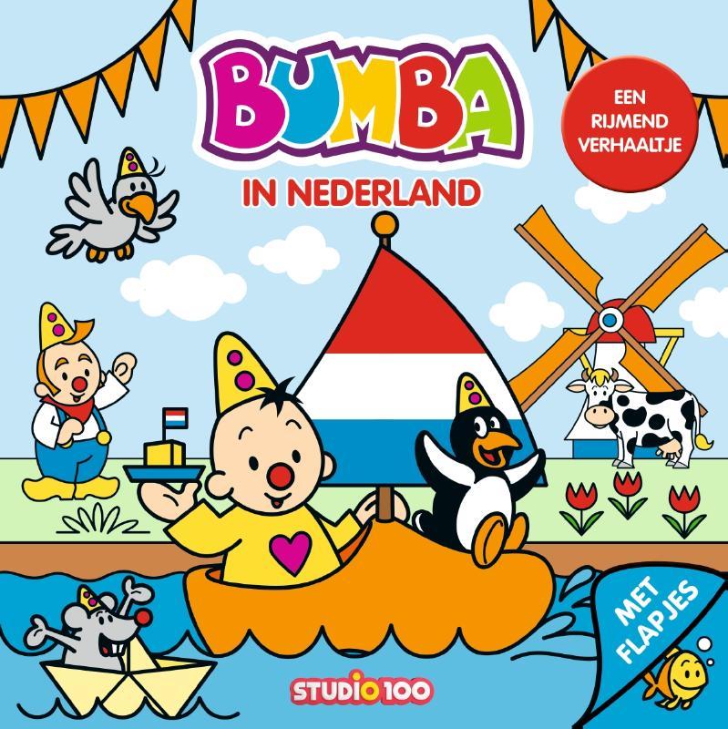 Bumba : kartonboek met flapjes - In Nederland