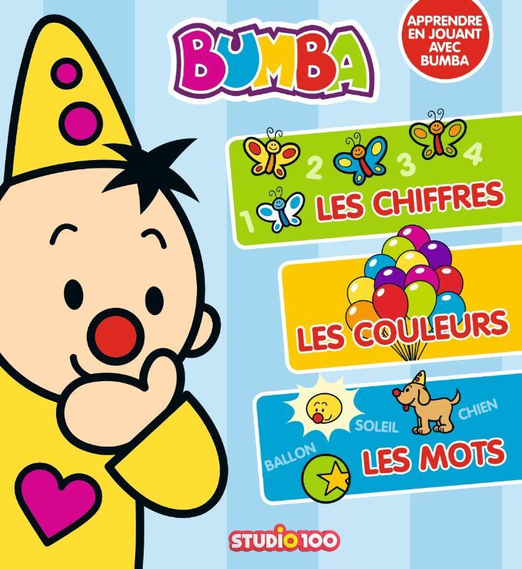 Bumba: educatief boek Frans - J'apprends les chiffres, les couleurs et les mots