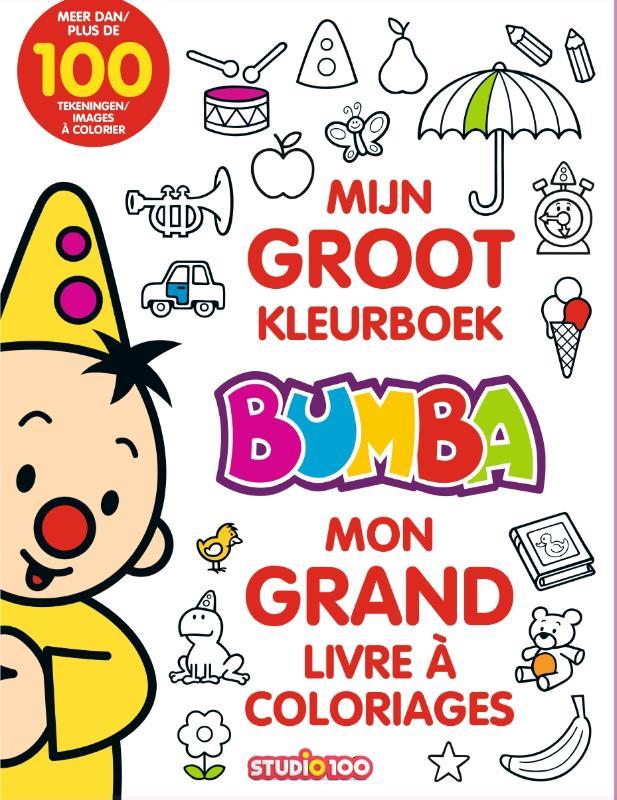 Bumba : kleurboek - Mijn groot kleurboek/Mon grand livre à coloriages
