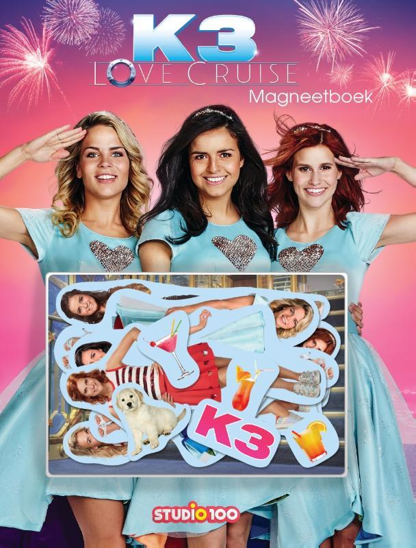 K3 : magneetboek - Love Cruise