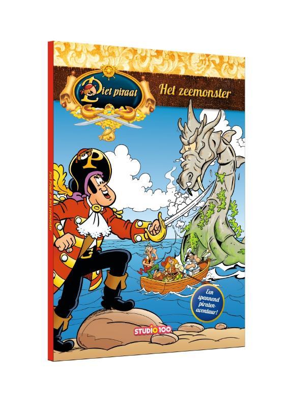 Piet Piraat : voorleesboek - Het zeemonster