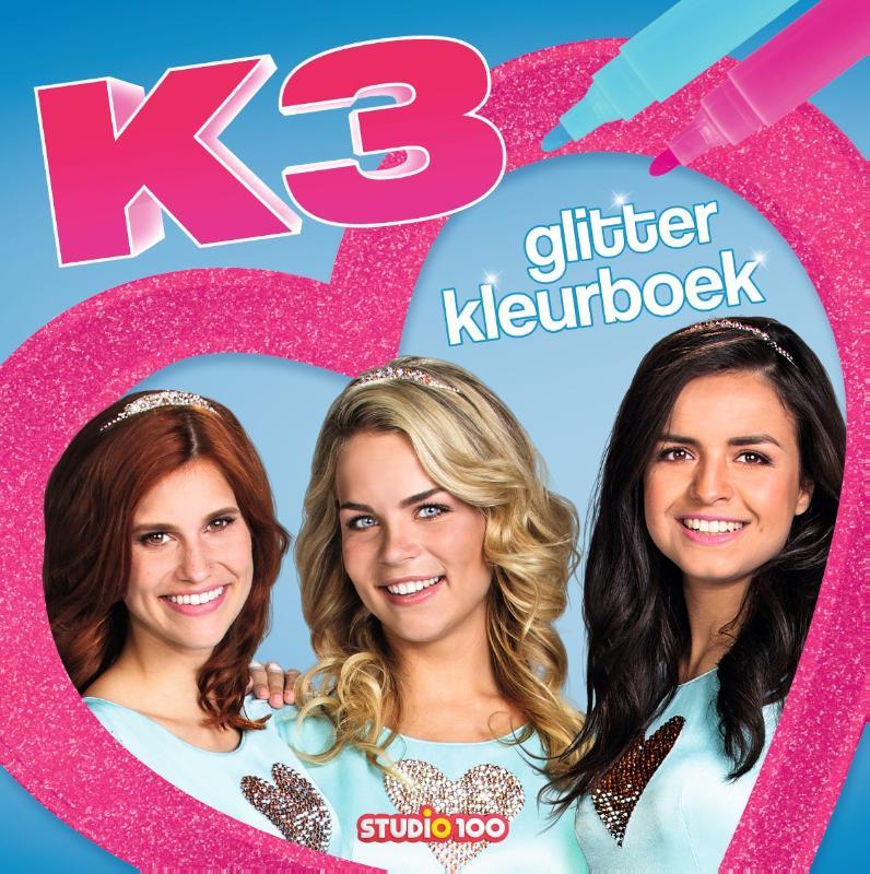 K3 : kleurboek - glitterkleurboek