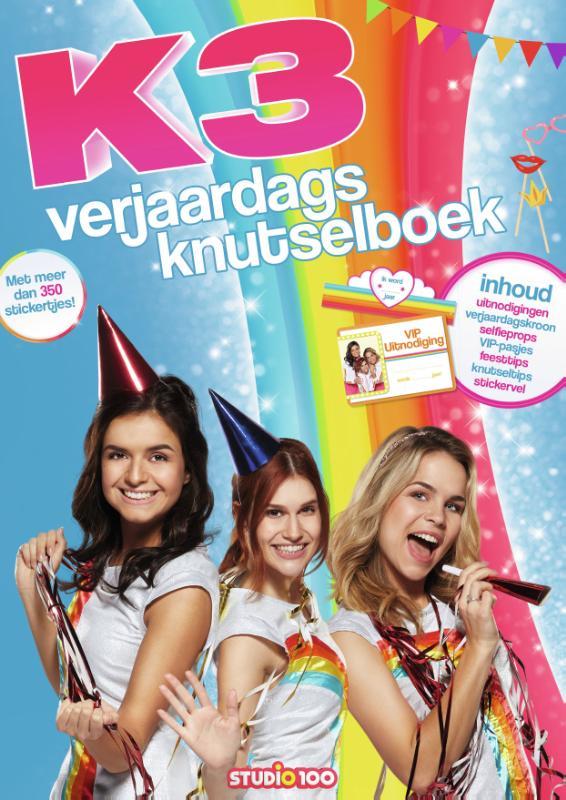 K3 : doeboek - Verjaardagsknutselboek