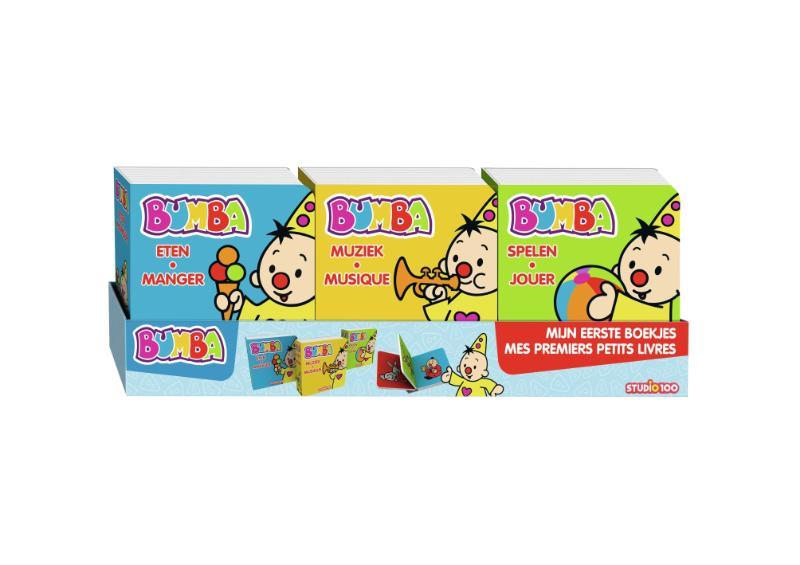 Bumba : set mini kartonboekjes - Mijn eerste boekjes (2-talig)