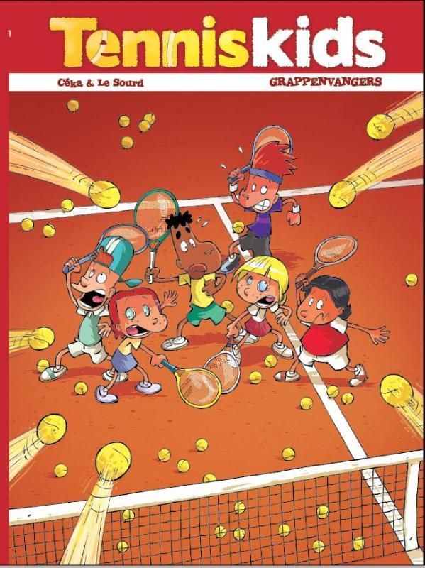 Tennis kids 1 Grappenvangers