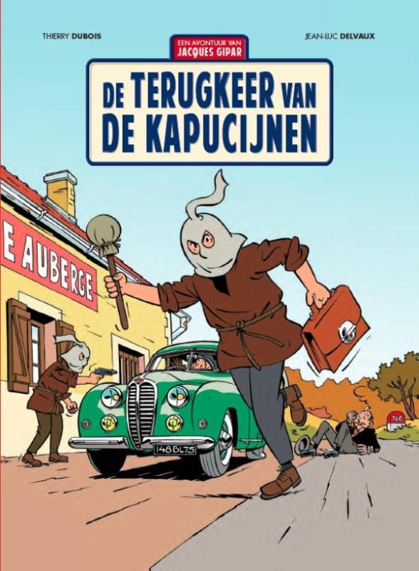 Jacques Gipar 2 De terugkeer van de Kapucijnen