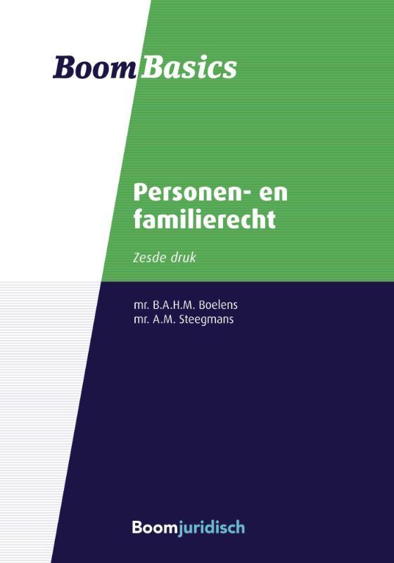 Boom Basics Boom Basics Personen- en familierecht