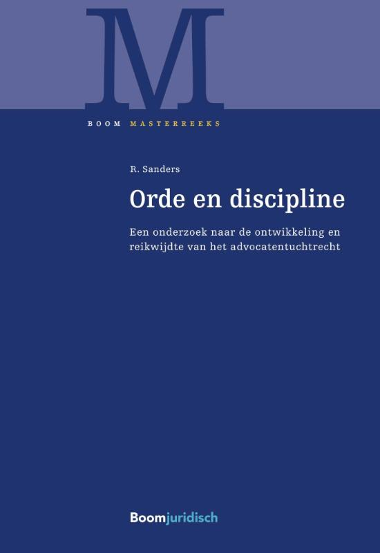 Orde en discipline