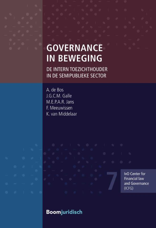 ICFG-reeks - IvO Center for Financial Law and Governance