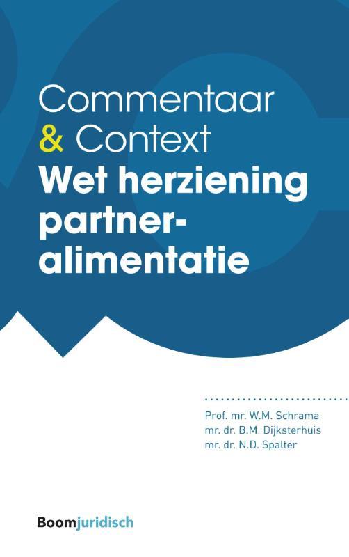Wet herziening partneralimentatie