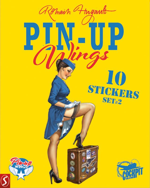 Pin-Up Wings stickers set 2