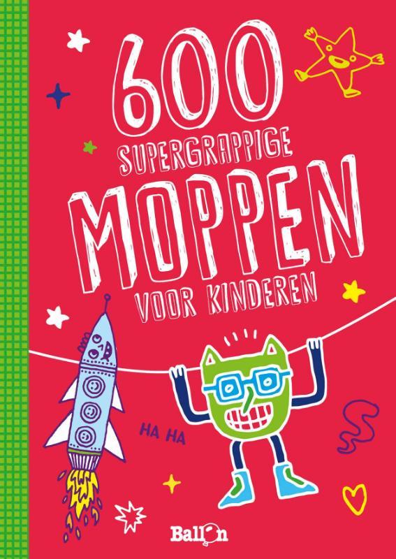 Moppenboeken 600 supergrappige moppen voor kinderen