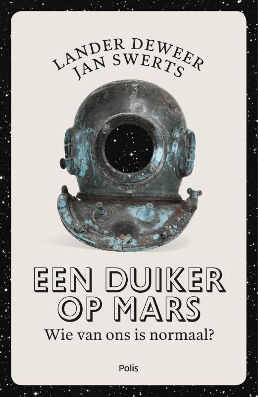 Een duiker op Mars