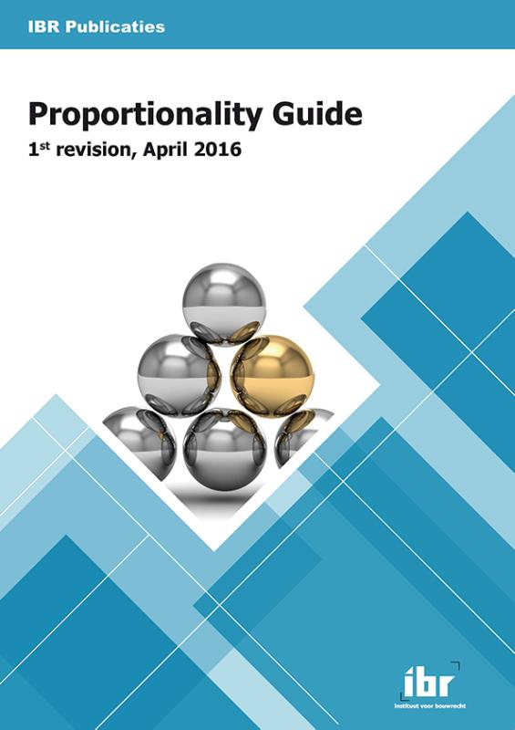 Proportionality Guide / 1st revision, April 2016