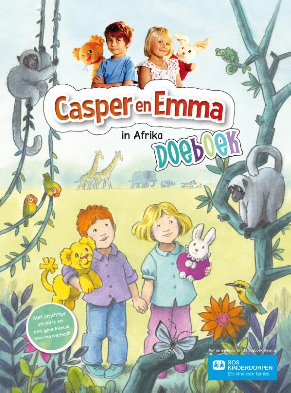 Casper en Emma sticker en doeboek