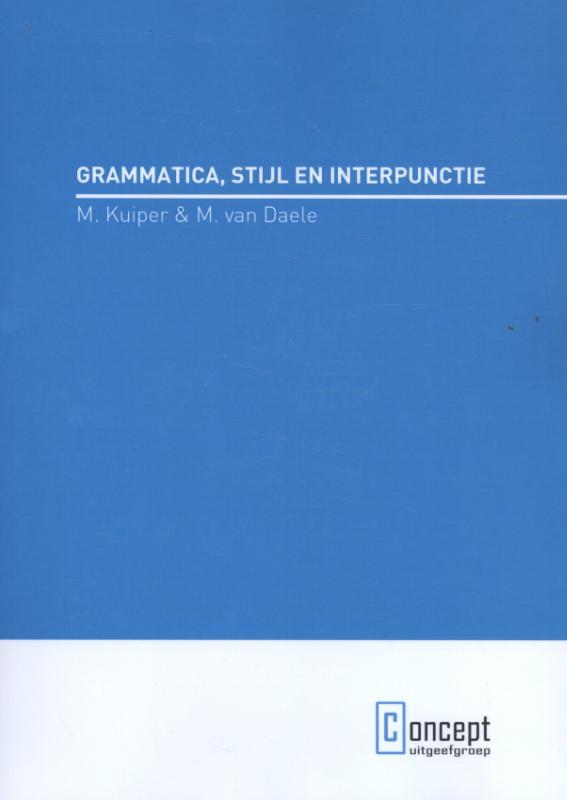 Grammatica, stijl en interpunctie