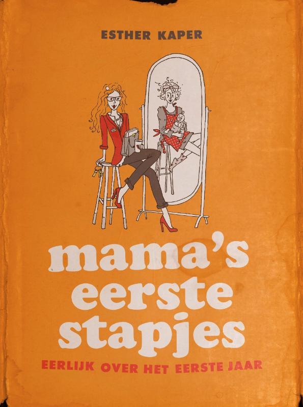 Mama's eerste stapjes