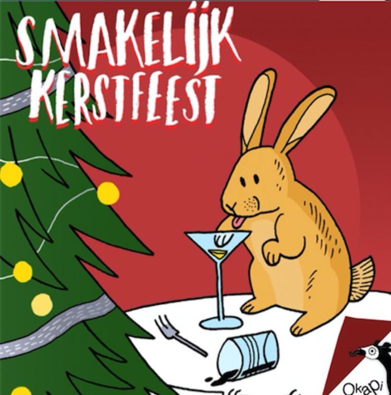 Okapi Smakelijk kerstfeest (set van 5)