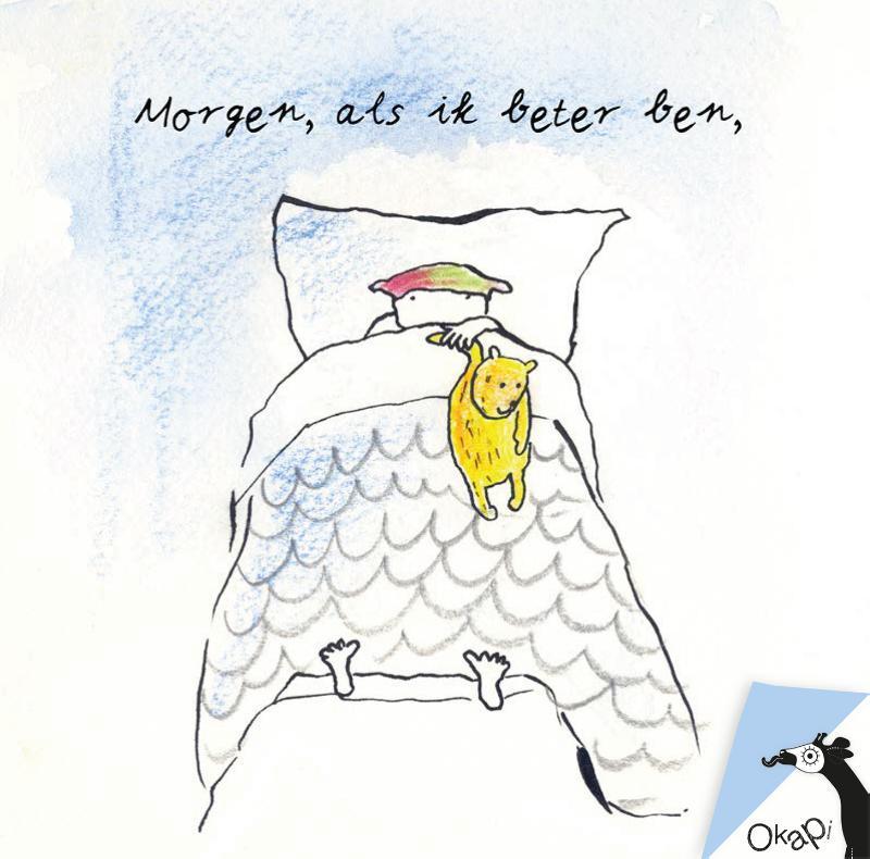 Okapi Morgen, als ik beter ben (set van 5)
