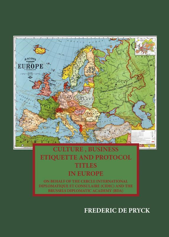 Culture, business etiquette and title protocol in Europe