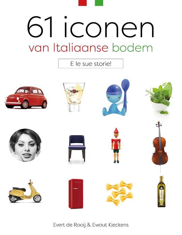61 Iconen van Italiaanse bodem