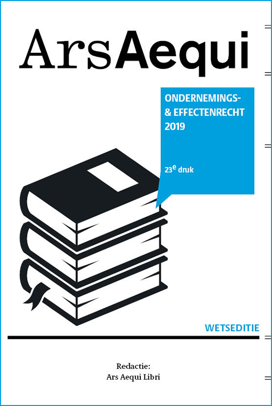Ondernemings- & effectenrecht 2019