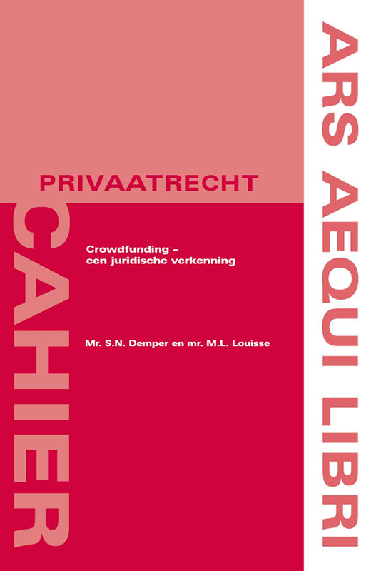 Ars Aequi Cahiers - Privaatrecht: Crowdfunding