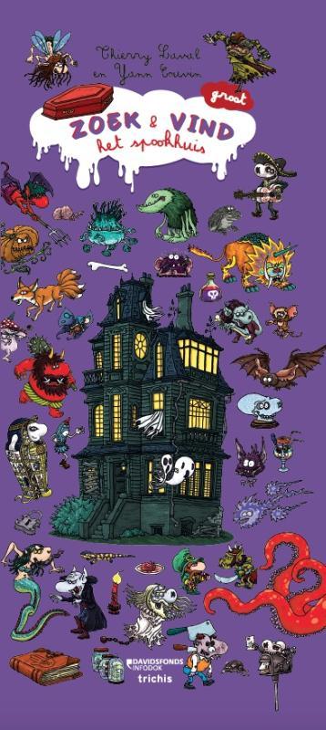 Zoek en vind in het spookhuis