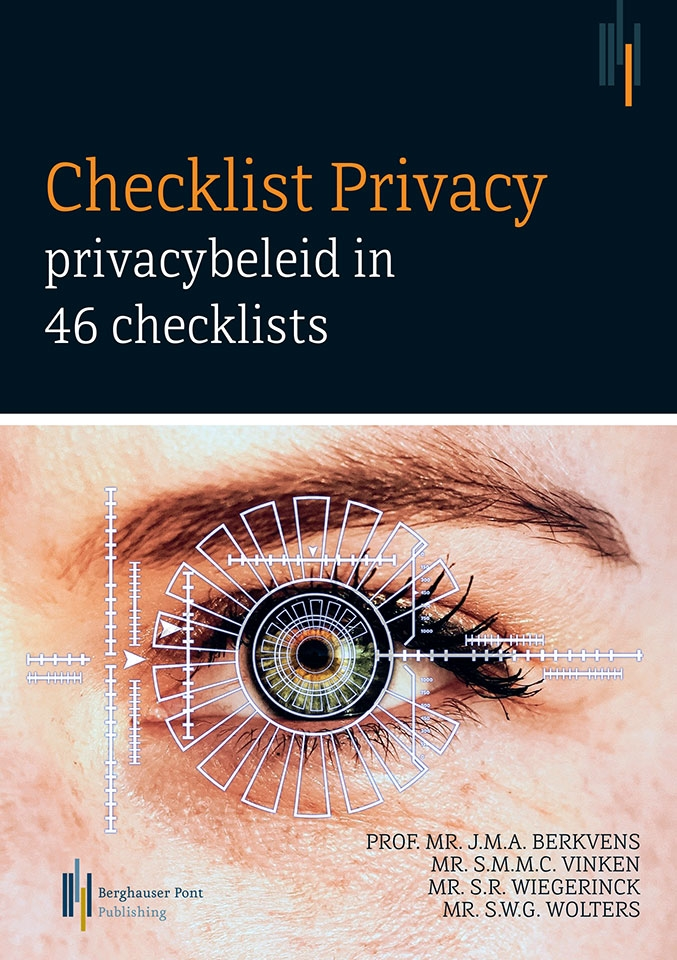 Checklist Privacy: privacybeleid in 46 checklists