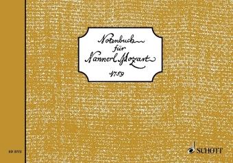 Notenbuch für Nannerl