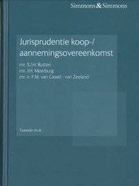 Jurisprudentie koop-/aannemingsovereenkomst