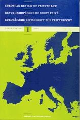 European Union Law, National Private Law, European Private Law